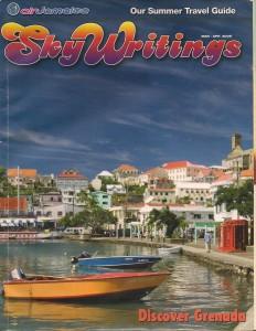 Air Jamaica Sky Writings Magazine, March – April 2006